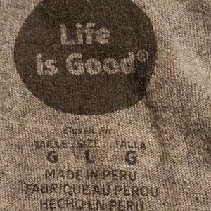 Life Is Good Shirts - Life is Good Roam Sweet Roam Heather Gray T-shirt